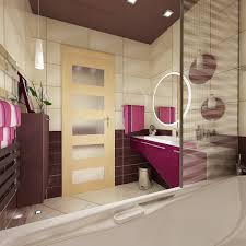 Bathroom Interior Ideas in Modern Apartment with Large Bedroom for Young  Couples