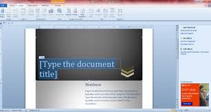 how to add cover pages to word documents guide however you don t necessarily have to choose a cover page from the templates to add one to your document you could always set up your own original cover