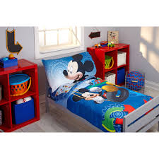 disney mickey mouse adventure day 4 piece toddler bedding set com
