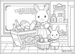 Calico Critters Coloring Pages Printable Little Critter Mercer