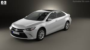 360 view of Toyota Camry XLE 2015 3D model - Hum3D store
