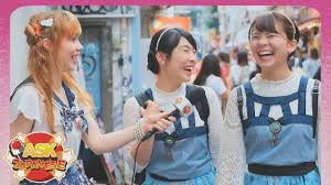 Japanese teens have fun learning