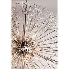10 light chandelier valley lighting caden 10 light sputnik chandelier