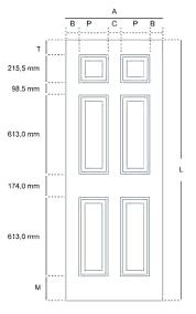 sliding door width large size