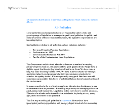 air pollution accurate identification of activities and document image preview