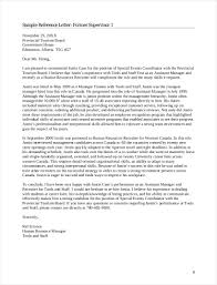 Example Reference Letter Recommendation For Employee Yopalradioco 9