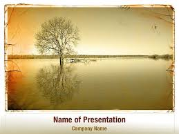 Tree Powerpoint Template Lonely Tree Powerpoint Templates Lonely Tree Powerpoint