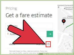 Uber Fare Quote Gorgeous 48 Ways To Get An Uber Fare Estimate In Advance WikiHow