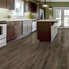 amazing home depot vinyl wood flooring trafficmaster take home sample allure plus northern hickory grey