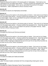 12 Olympians Chart The Twelve Olympians Pdf Free Download