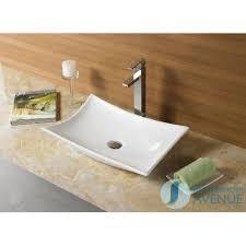 contemporary modern counter top wash basin camille
