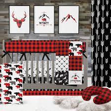 baby boy crib bedding buck deer
