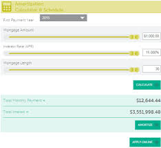 amortization calculator online 103 best free online amortization schedule maker