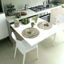 Cuisine Table Escamotable Table Cuisine Escamotable Petite Table De