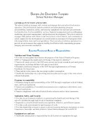 Best Photos Of Samples Of Job Descriptions Formats Sample Job