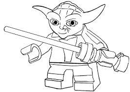 Star Wars Kleurplaat Nieuw Kleurplaat Yoda Werkbladen En
