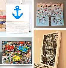 chevron canvas wall art diy wordpress canvases and walls