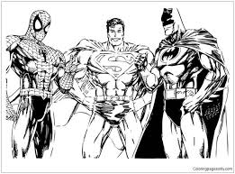 You can search images by categories or posts, you can also submit more pages in comments below the posts. Spiderman Superman And Batman Coloring Pages Spiderman Coloring Pages Free Printable Coloring Pages Online