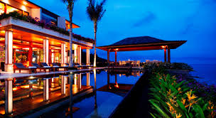 Maesse Marketing Consulting Ltd Pool Villa Infinity Pool Night
