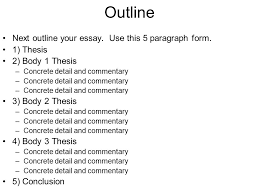 essay commentary what is commentary essay questions % of score  essay questions % of score minute reading period hours to outline next outline your essay use commentary
