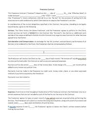 Permalink to Contract Template For Freelancers – Freelance Contract Template To Protect Your Projects : Effective dates for your contract.