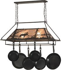 Oil Rubbed Bronze Kitchen Island Lighting Meyda Tiffany 152951 Moose At Lake Rustic Oil Rubbed Bronze