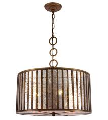 elegant lighting 1704d20dab frisco 4 light 20 inch dark antique brass chandelier ceiling light urban