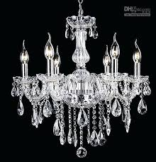 remarkable simple crystal chandelier bedroom lights living room 6 bulbs