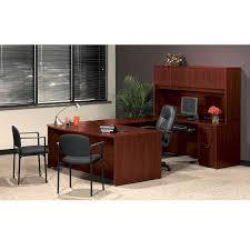 basyx bl laminate series executive u shaped desk package basyxpackageb