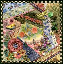 232 best Crazy Quilt Projects images on Pinterest | Books, Crafts ... & This is one block of a beautiful