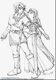 Zelda Coloring Pages Link Coloring Page From The Famous Zelda Video