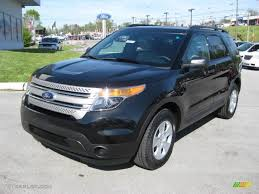 Tuxedo Black Metallic 2013 Ford Explorer 4WD Exterior Photo ...