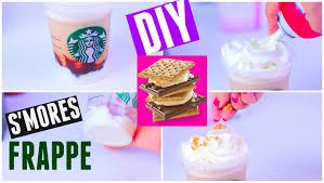 starbucks frappuccino flavors 2015. Wonderful Flavors DIY Starbucks Su0027mores Frappuccino Drink New 2015  Smores On Flavors R