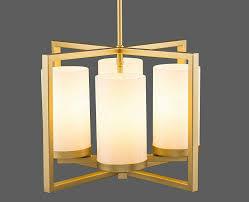 Caserti Modern Pendant Light Chandelier Verona 4 Light Contemporary Intersecting Pendant Satin Brass Linea Di Liara