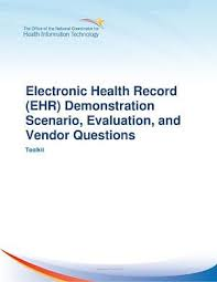 Matrix Electronic Charting Ehr Demonstration Scenario Evaluation And Vendor Questions