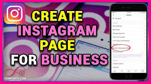 How To Creat How To Create Instagram Page For Business Youtube