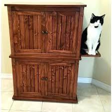 cat litter box cabinet gorgeous ideas furniture design bright diy plans