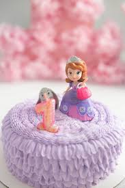 1st Birthday Cake Girl Sofia The First Birthday Party Made To Be A