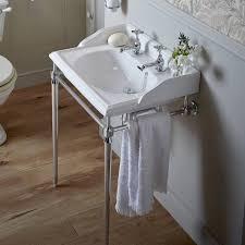 heritage dorchester basin abingdon chrome washstand