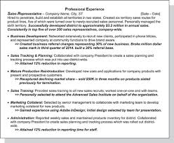 How To List Experience On Resume