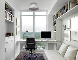 tiny office ideas.  Office Small Office Ideas With Black Laptop Closed Desk Lamp On Square  For Tiny D