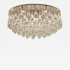 christophe palme massive christoph palme crystal teardrop flush mount chandelier