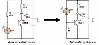 ldr circuit diagram 9v wiring diagram ldr circuit diagram 9v schematics wiring diagramdark light sensor using transistor buildcircuit electronics ldr repeating timer