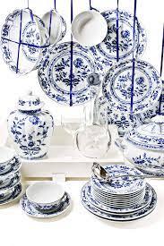 Conjunto Vista Alegre Atlantis   Blue dinnerware, Blue and white china,  Blue dinnerware sets