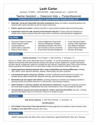 Assistant Teacher Resume Resumes Daycare Job Description For