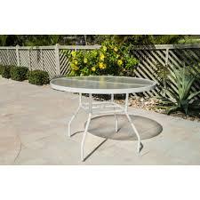 inch acrylic patio table
