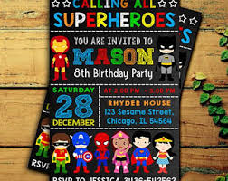 superheroes birthday party invitations awesome alice in wonderland party invitation template free or in