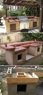 design your space outdoor kitchen ideas cinder block outdoor grill designs