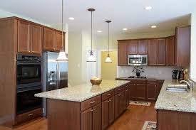 brown cabinets with white countertops the most alaska granite design cost pros and cons intended for 3