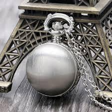online get cheap ball mens watch aliexpress com alibaba group cute matte silver ball design quartz fob pocket watch pendant sweater necklace chain for ladies